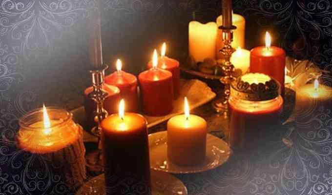 Заженые свечи для любовных обрядов