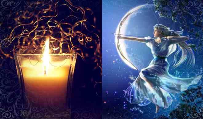 Ритуал со свечой в полнолуние