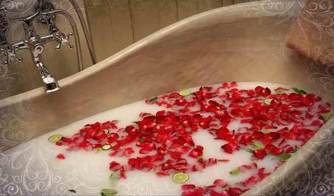 Принять волшебную ванну, чтобы желание сбылось