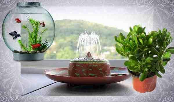 Активизировать зону денег помогут водные символы