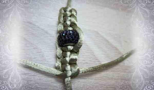 пятый этап плетения