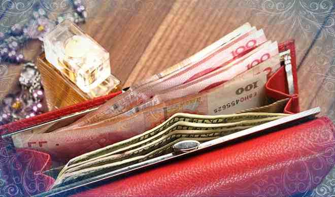 Красный цвет притягивает деньги в бумажник (фото)