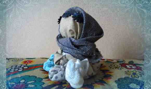 Кукла-оберег Крупеничка, сделанная своими руками (фото)