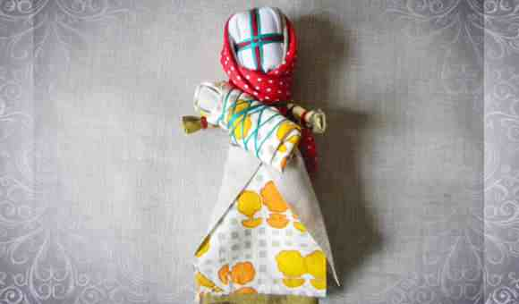 Куколка - оберег из ткани