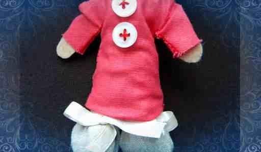 Делаем одежду для куклы