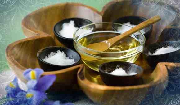 Соль и эфир для денежной ванны