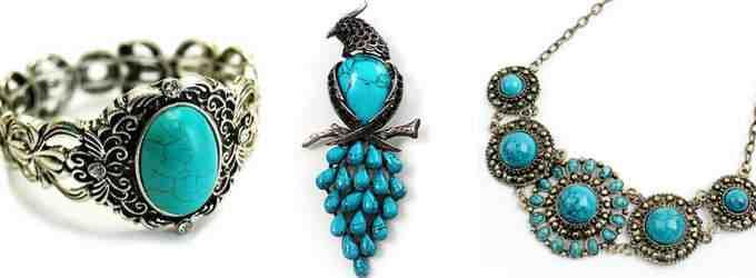 Винтажные украшения: кольцо, брошь, ожерелье (фото)