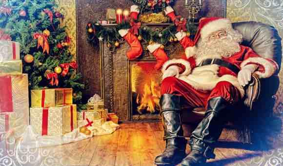 Дед Мороз принес подарки