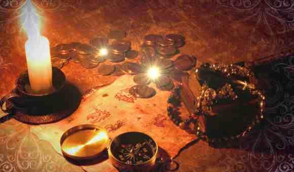 Делаем амулет при свечах