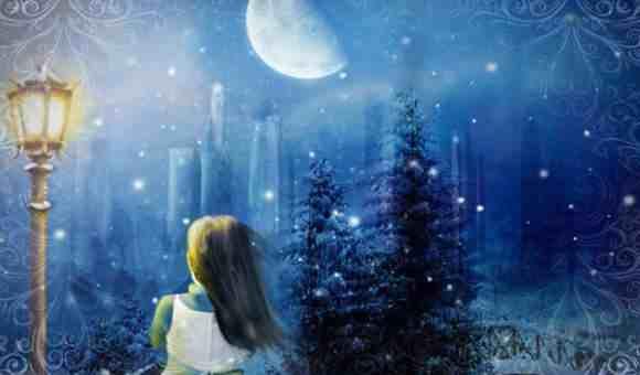 Вечер при свете луны