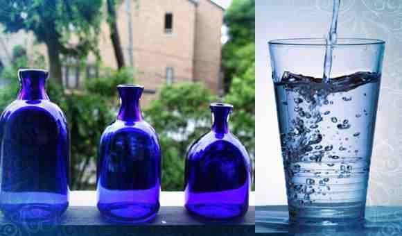 Голубая солнечная вода