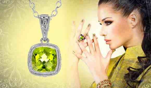 Камень хризолит - мистические свойства зеленого самоцвета