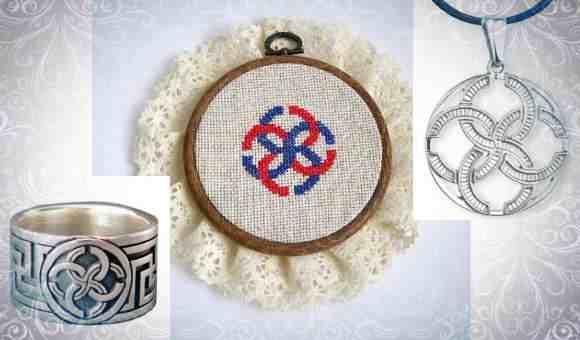 Славянская вышивка, современные украшения