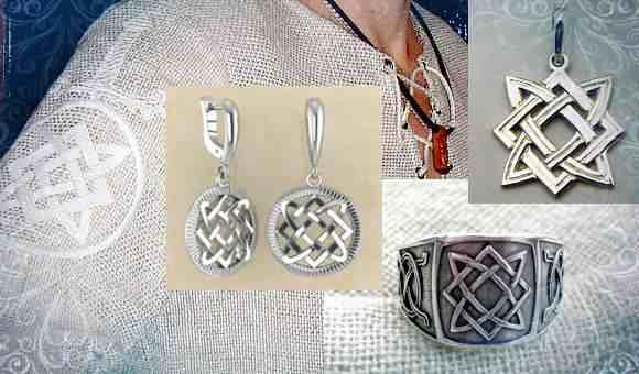Рубаха, современные украшения с символом Лады Богородицы