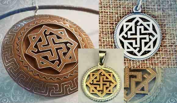 Использование символа в современных украшениях