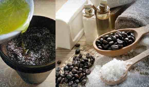ингредиенты для скраба из кофе
