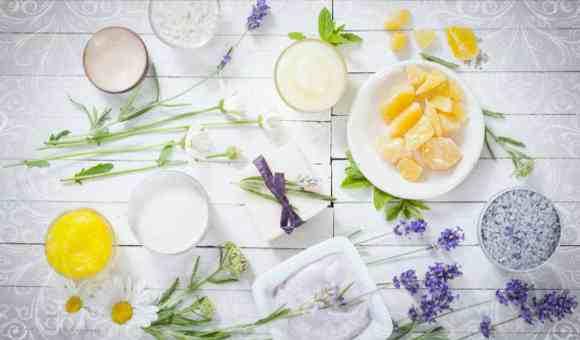 Травы и фрукты для натуральной косметики
