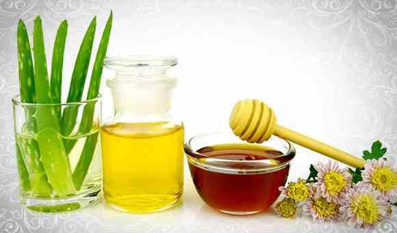 Алое и репейное масло