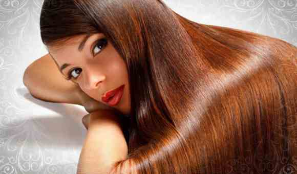 Красивые волосы, без перхоти