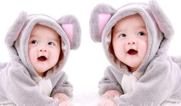 милые близнецы