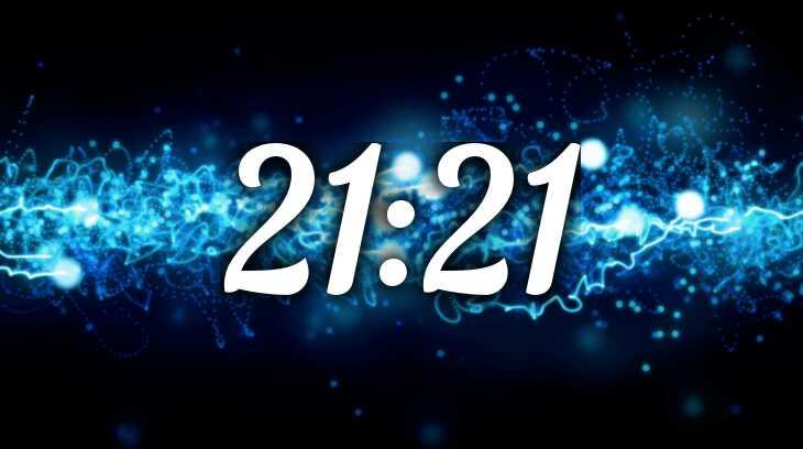 время 21 21 на часах